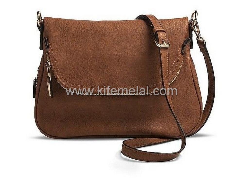 کیف چرم زنانه جیب دار
