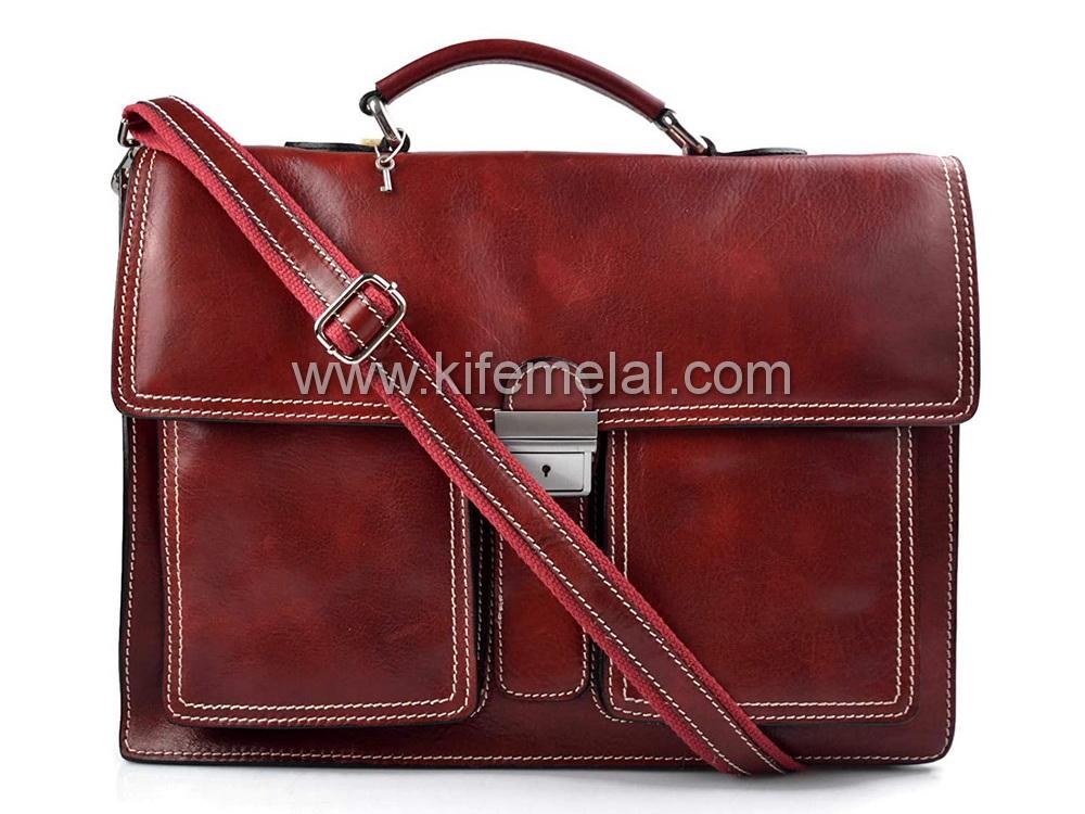 کیف چرم همایش